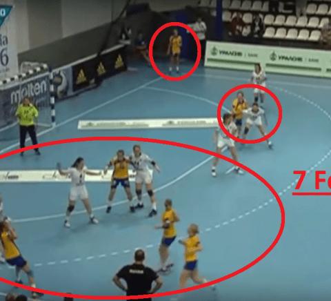 Handball 7 Feldspieler