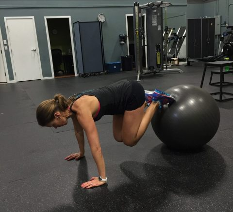gleichgewicht trainieren Handballtraining