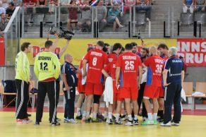 Das Time Out beim Handball ist wichtig