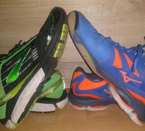 Unterschied Laufschuhe und Handballschuhe