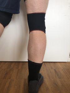 TSM Knieschoner Rückseite